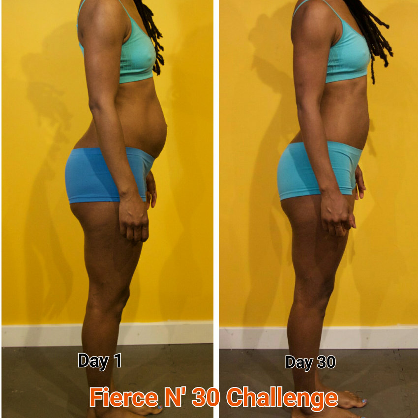 1st Place - Fierce N' Fit Challenge