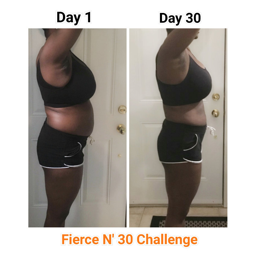 1st Place Winner - Fierce N' Fit Challenge